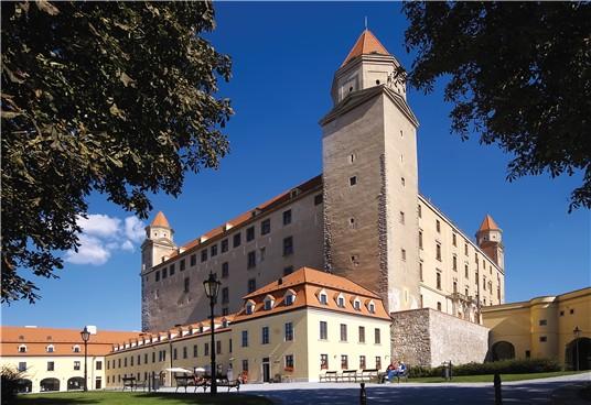 Замок в Братиславе, Словакия