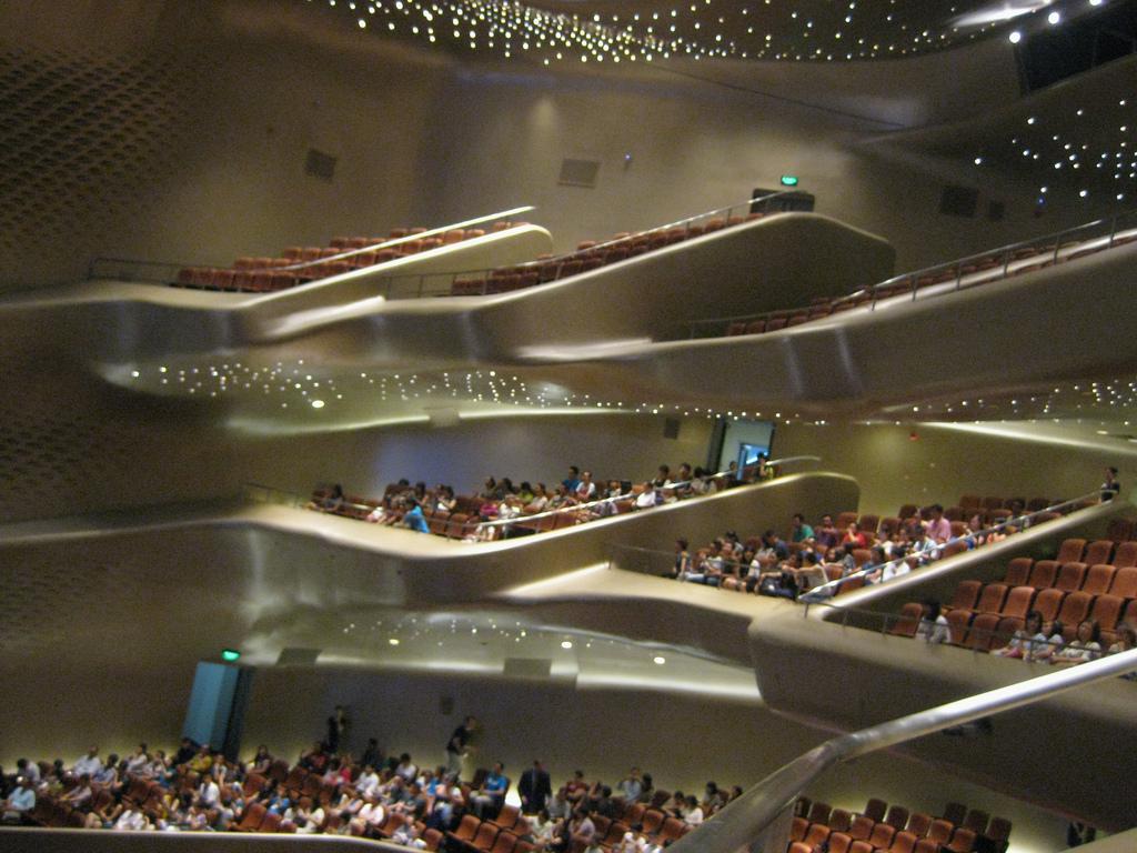Оперный театр Гуанчжоу, зрительный зал