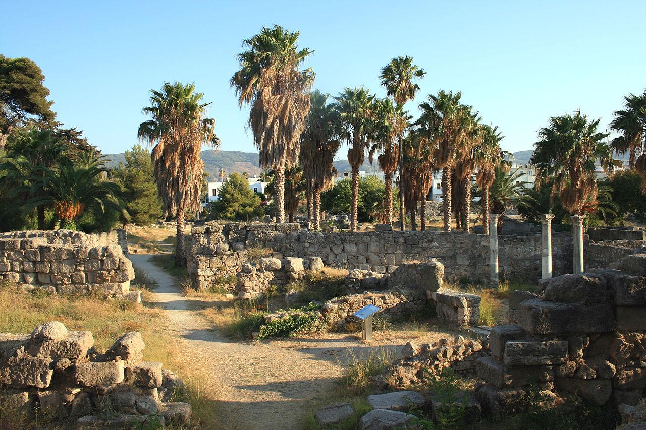 Руины на острове Кос, Греция
