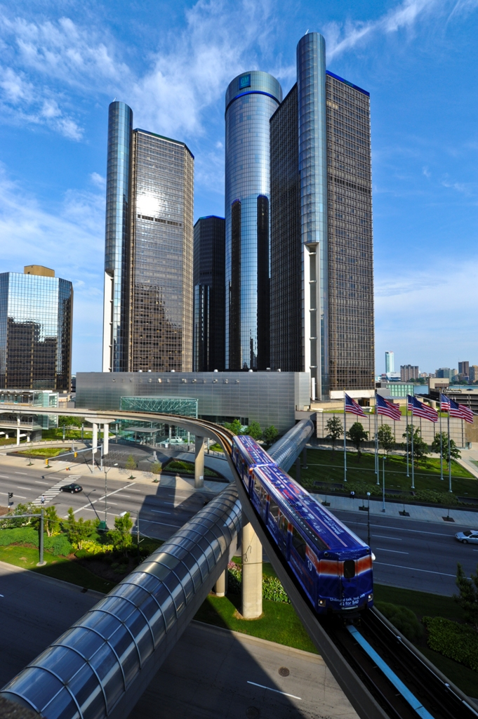 Бизнес-центр в Детройте