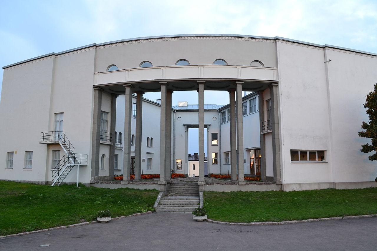 Здание музея изящных искусств и школы живописи в Выборге