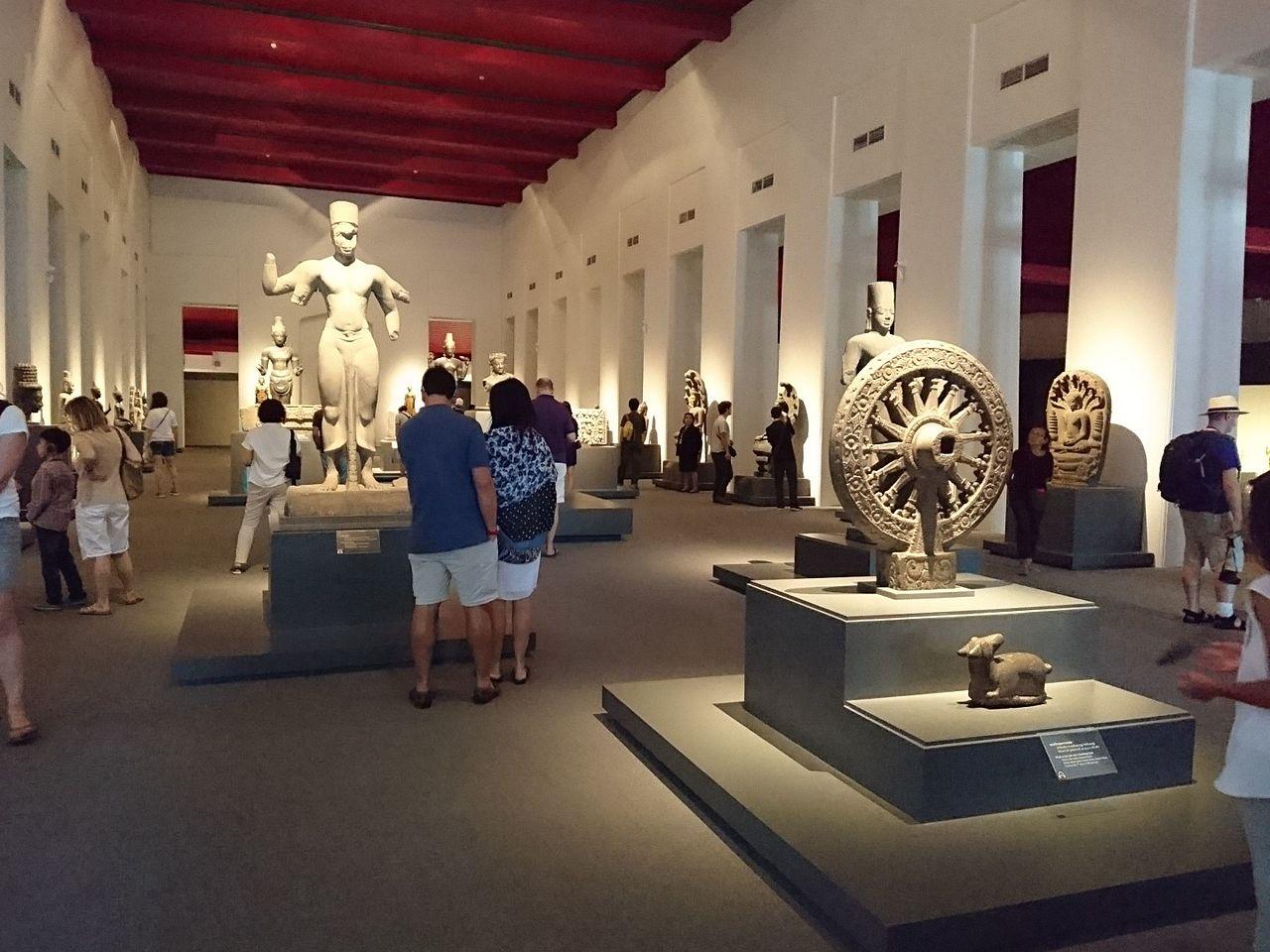 Национальный музей Бангкока, галерея тайской истории