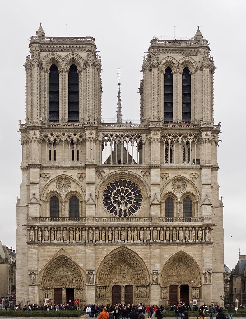 Остров Сите, собор Парижской Богоматери