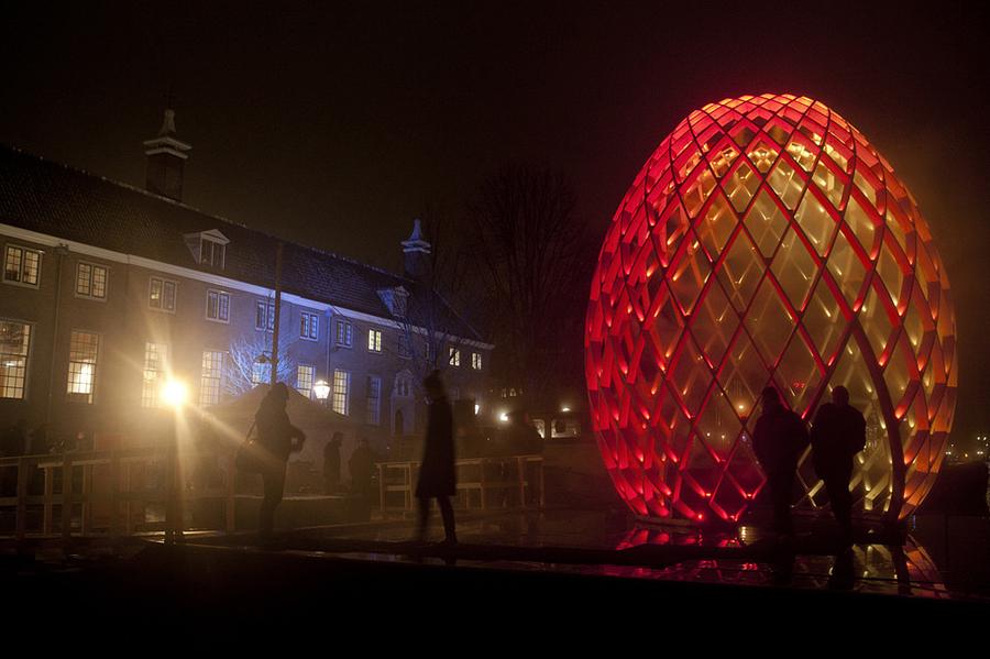 Праздник света в Амстердаме