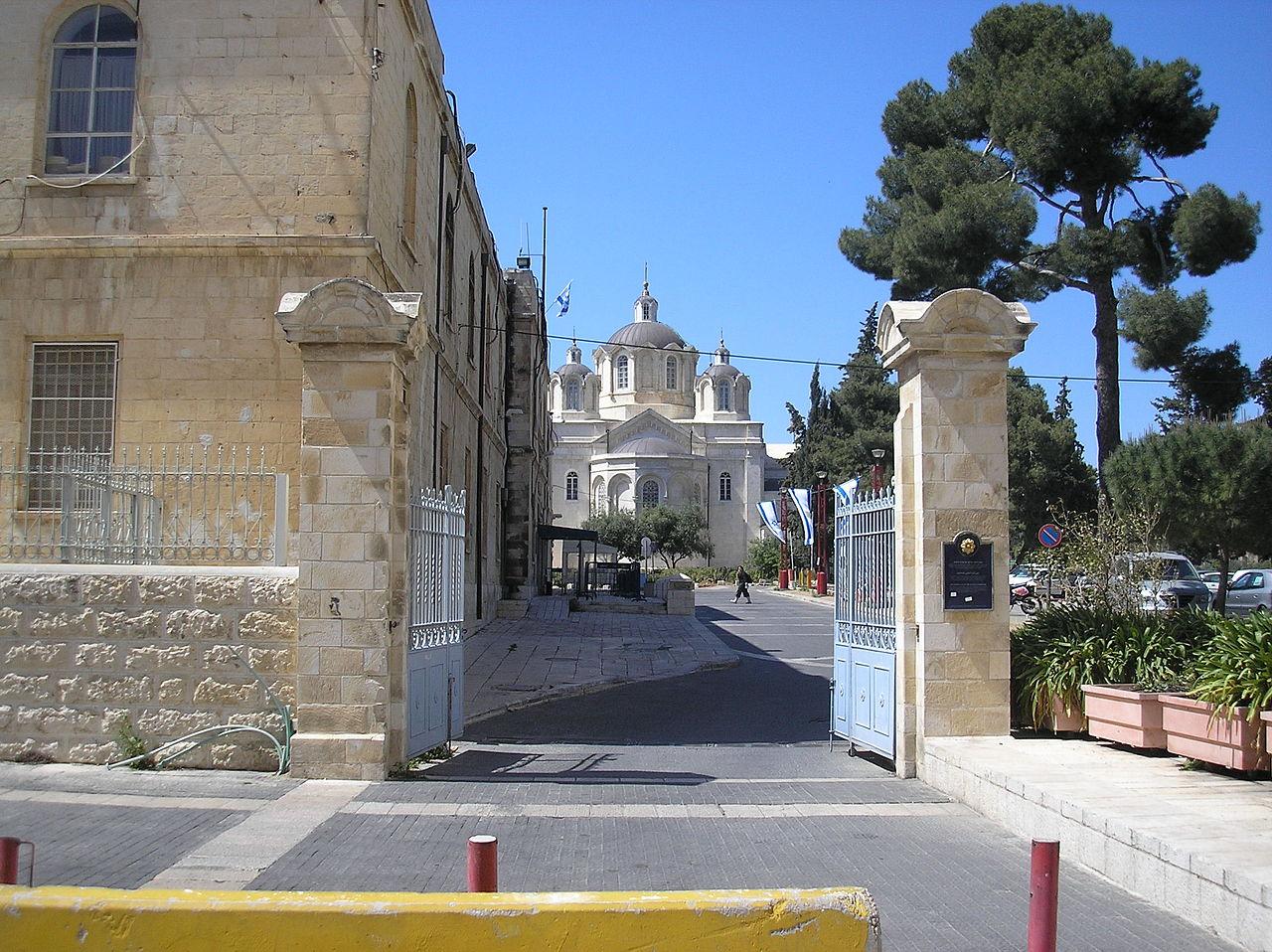 Русское подворье в Иерусалиме, южные ворота