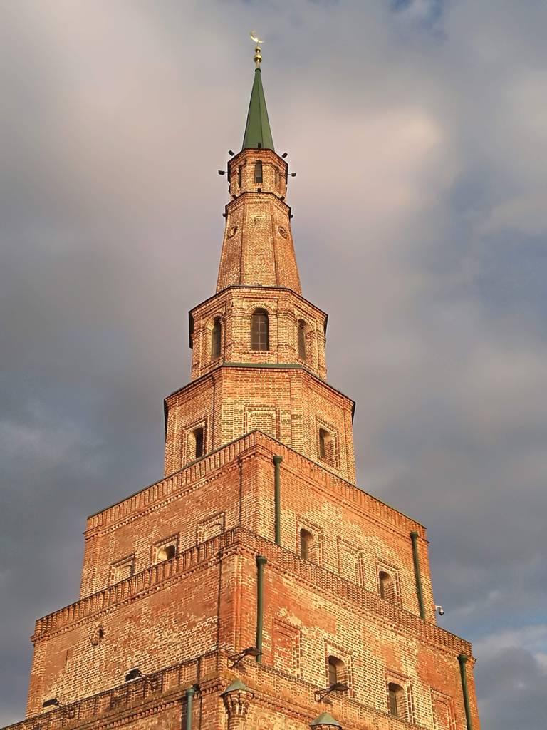 Архитектура башни Сююмбике в Казани, Россия