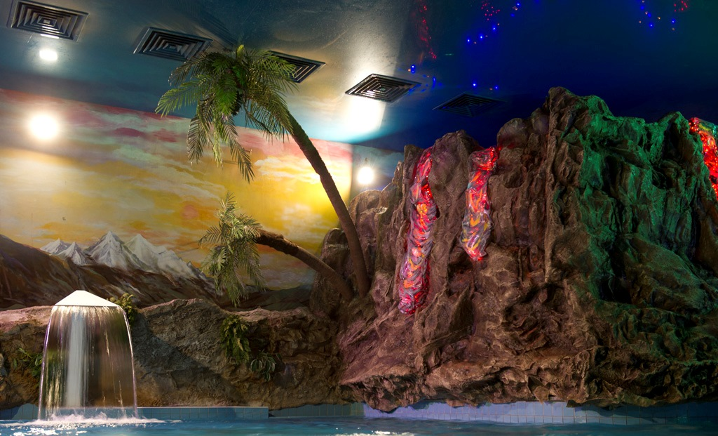 Бассейн у вулкана, Аквазона фитнес-центра «Кимберли Лэнд», Москва