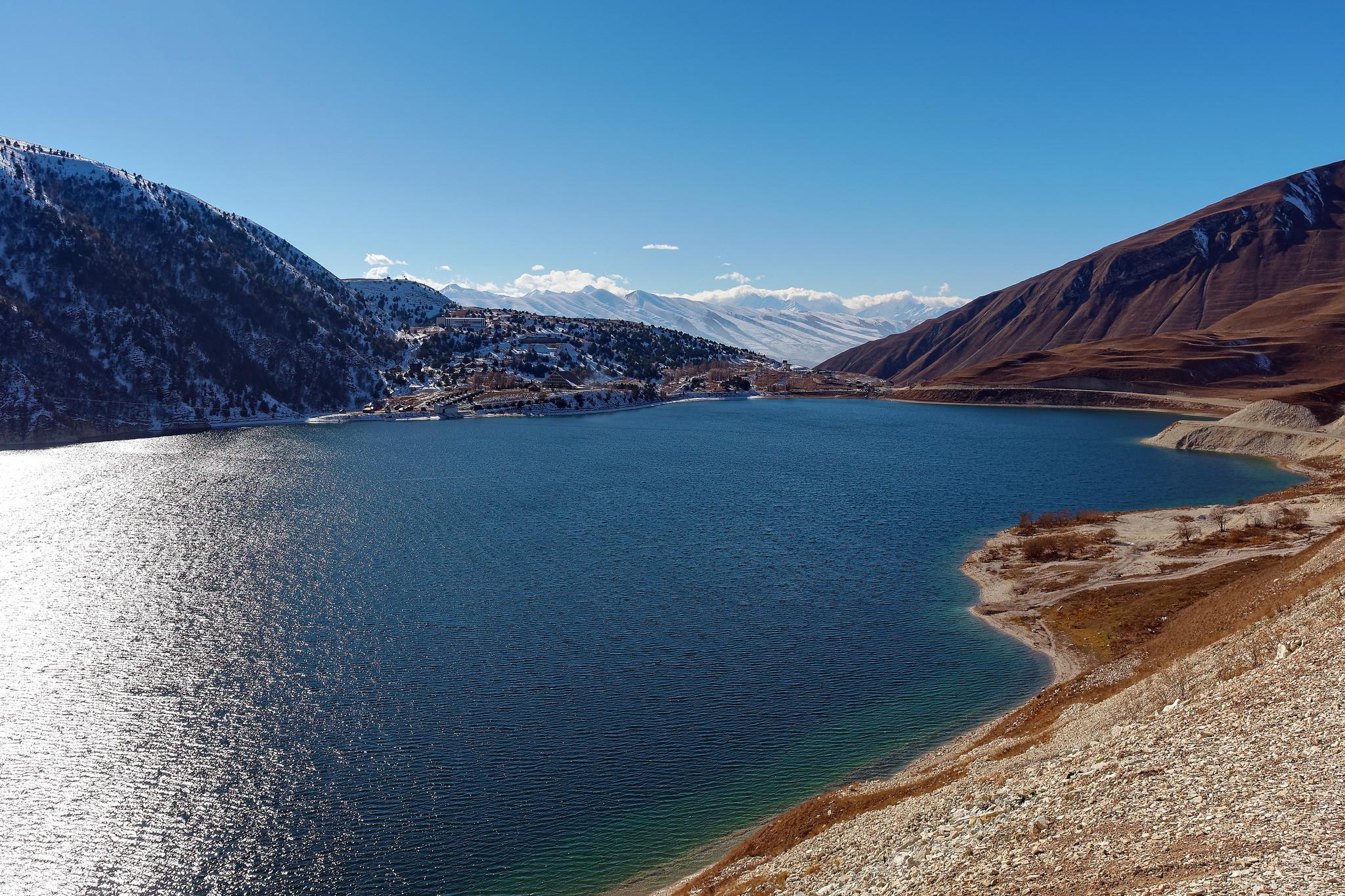 Вид на озеро Кезенойам