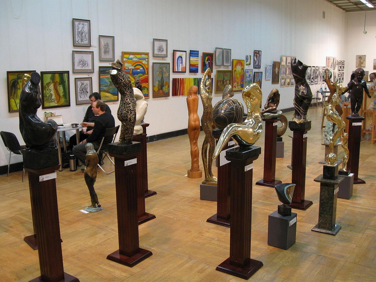 Выставка Катиба Мамедова в ЦДХ