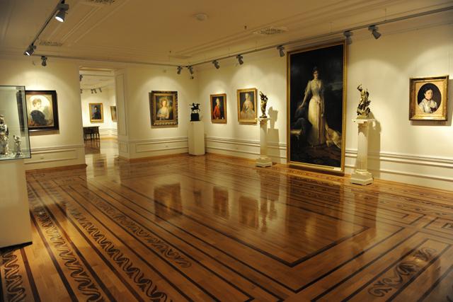 Один из залов, Музей искусств Азербайджана, Баку