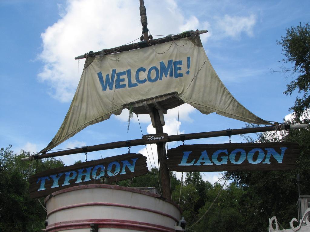 Аквапарк «Лагуна тайфунов» в Орландо