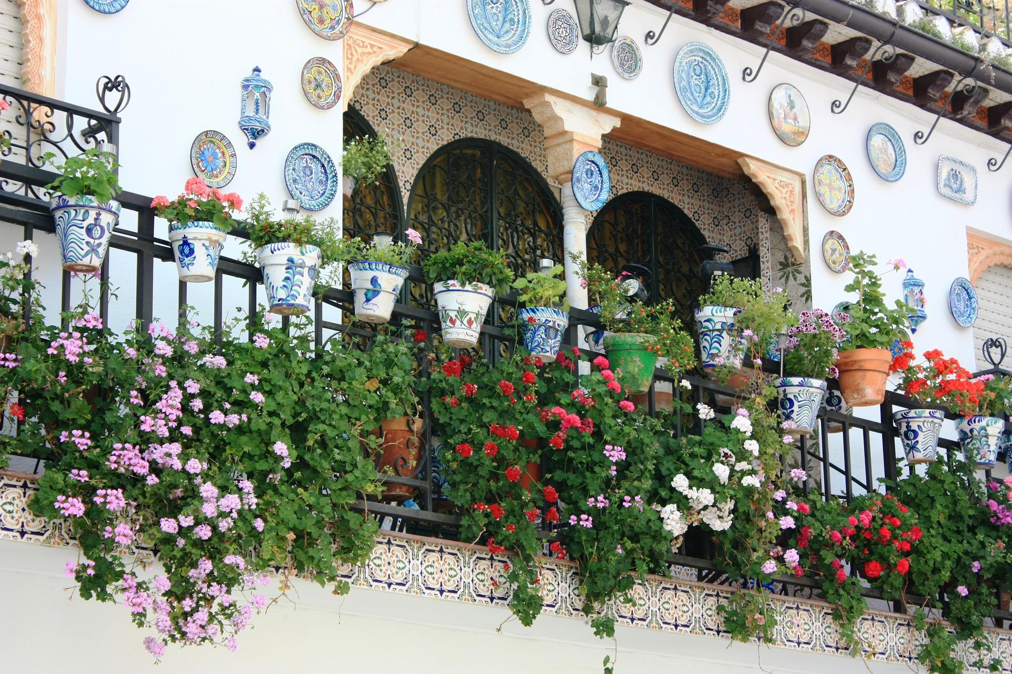 Альбайсин, балкон жилого дома