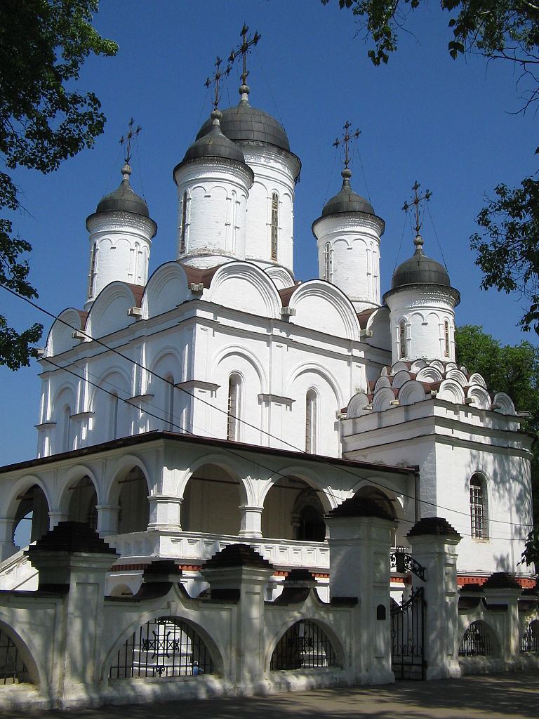 Большие Вяземы, Спасо-Преображенский собор