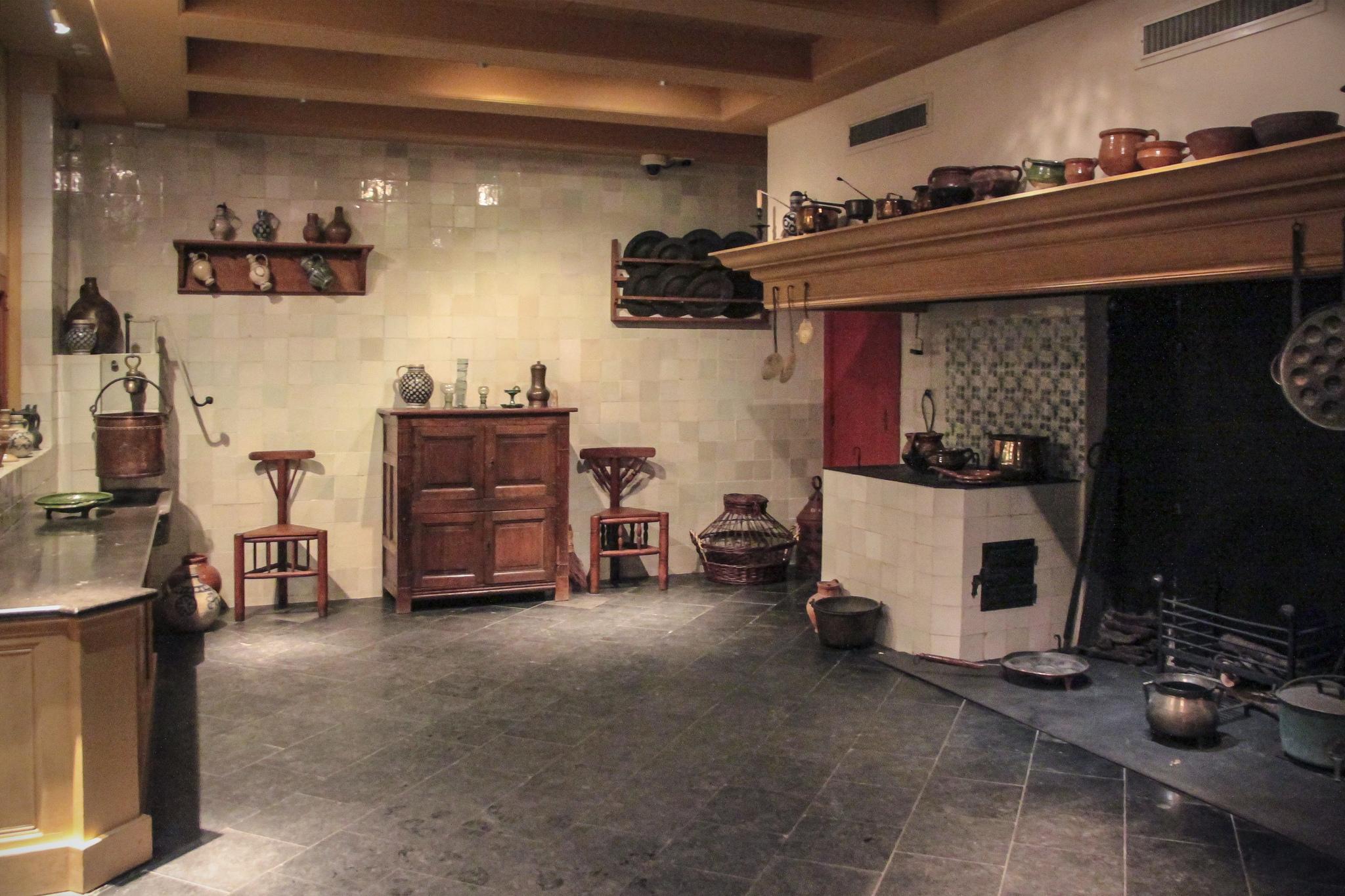 Дом-музей Рембрандта, кухня