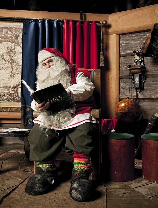Дом Санта-Клауса в Финляндии