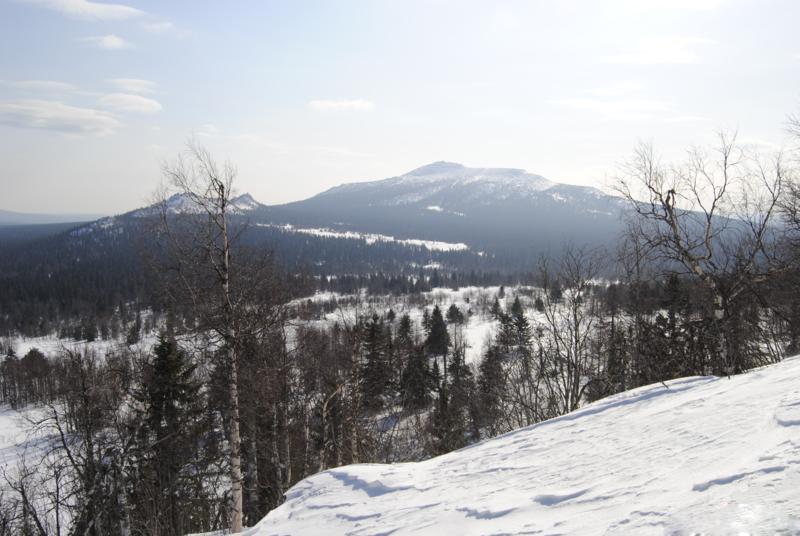 Заповедник Басеги зимой, Россия