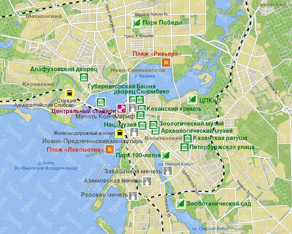 Достопримечательности Казани, моя подборка 30 лучших мест города