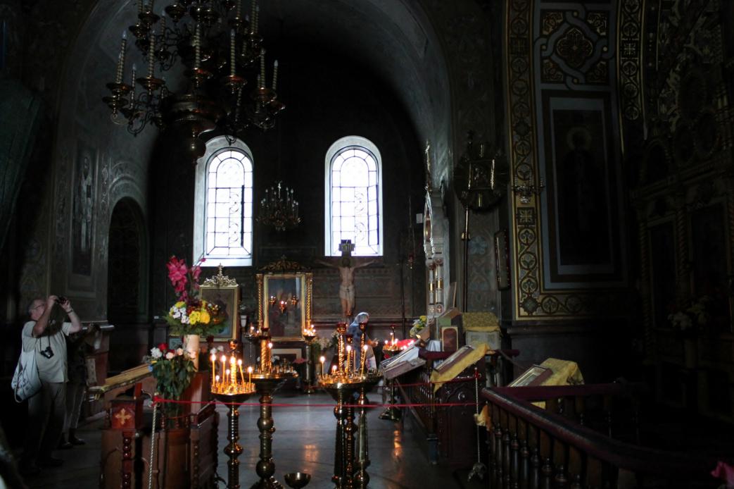 В соборе Александра Невского