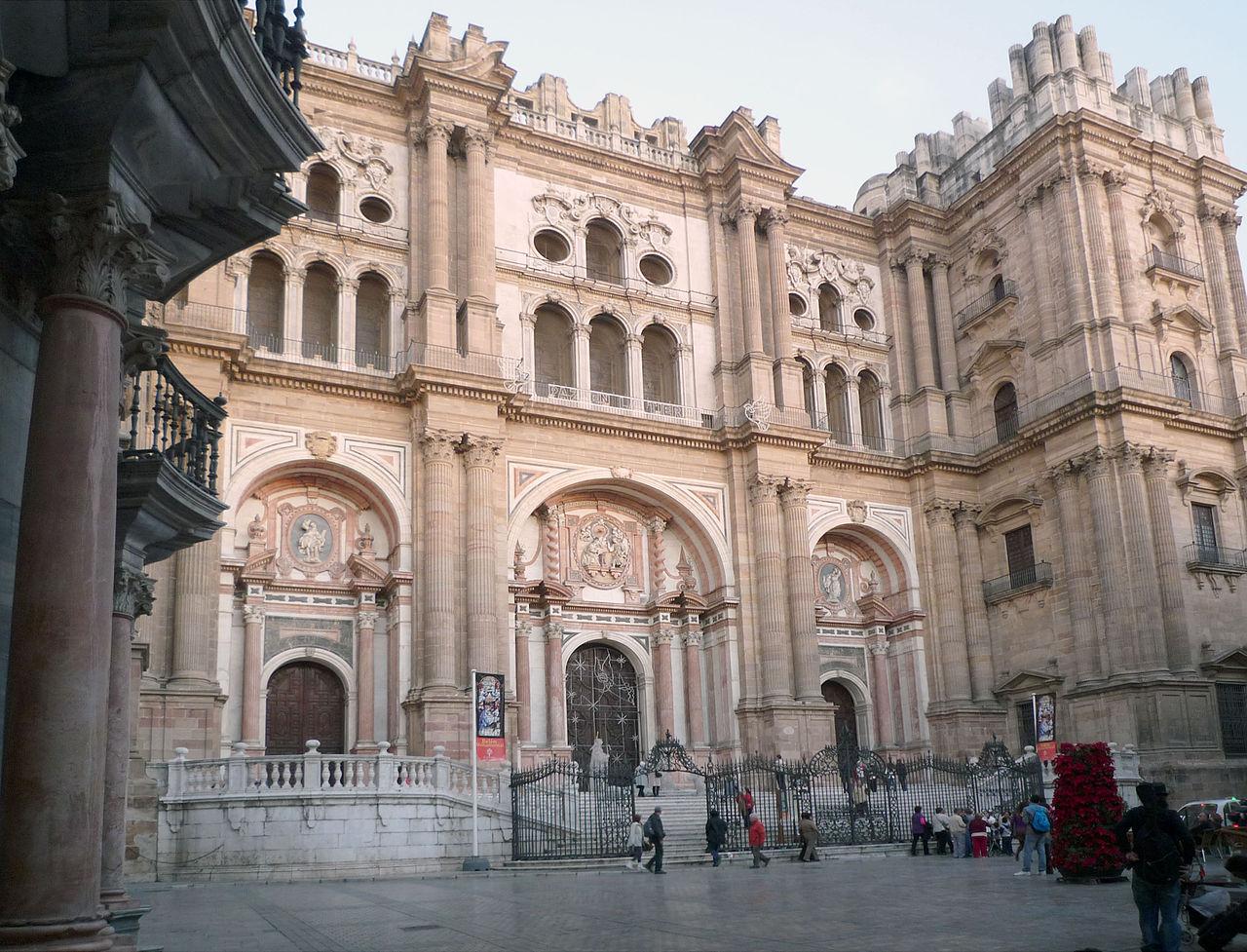 Кафедральный собор Малаги, главный фасад