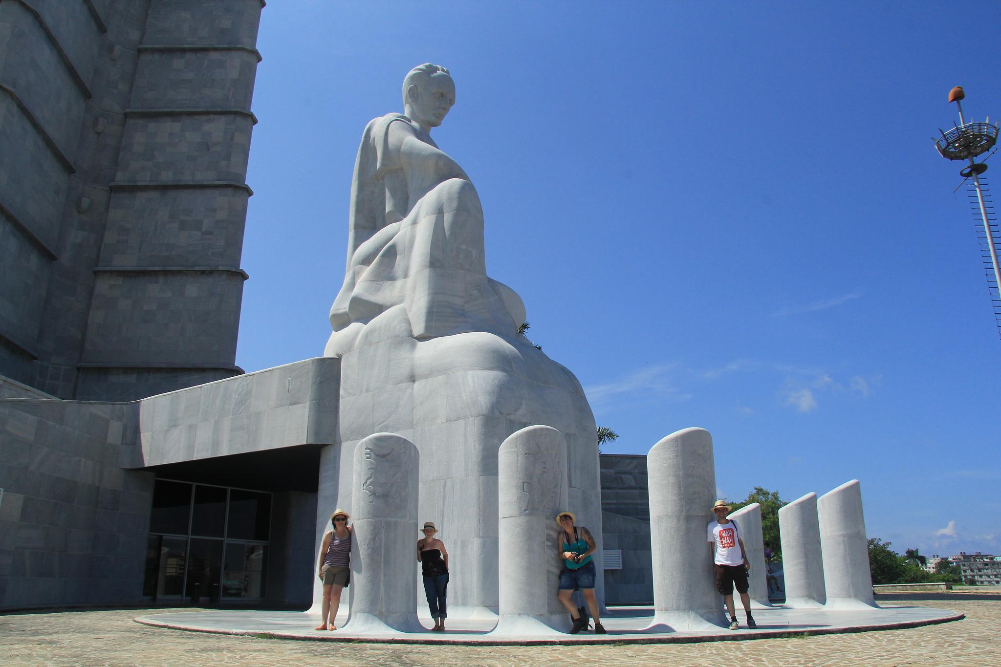 Площадь Революции в Гаване, мемориал Хосе Марти