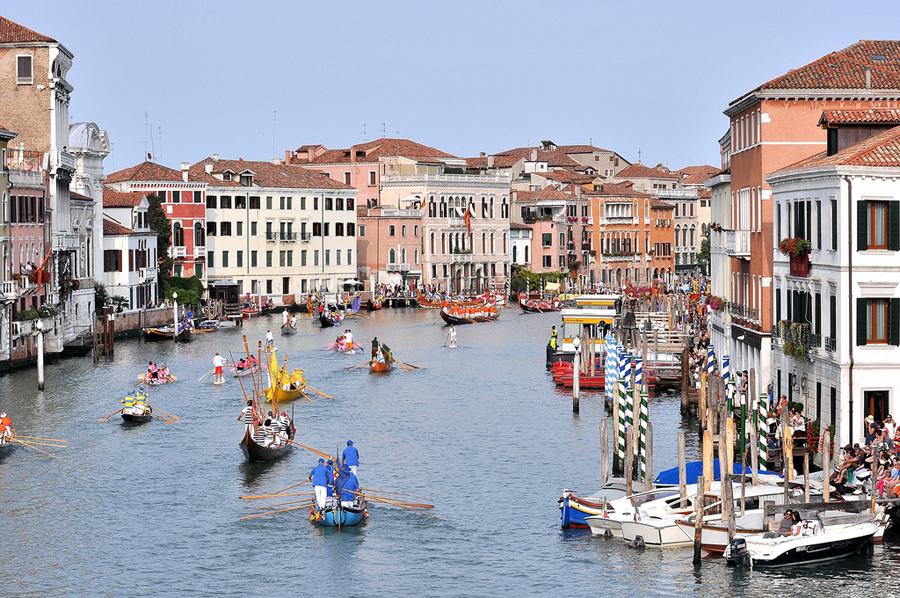 Регата в Венеции
