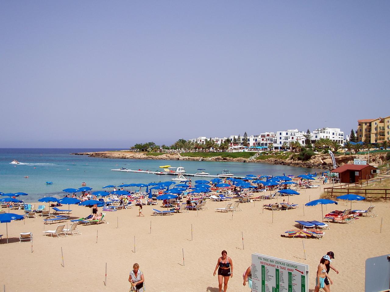 Фото пляжа фиг три протарас 30