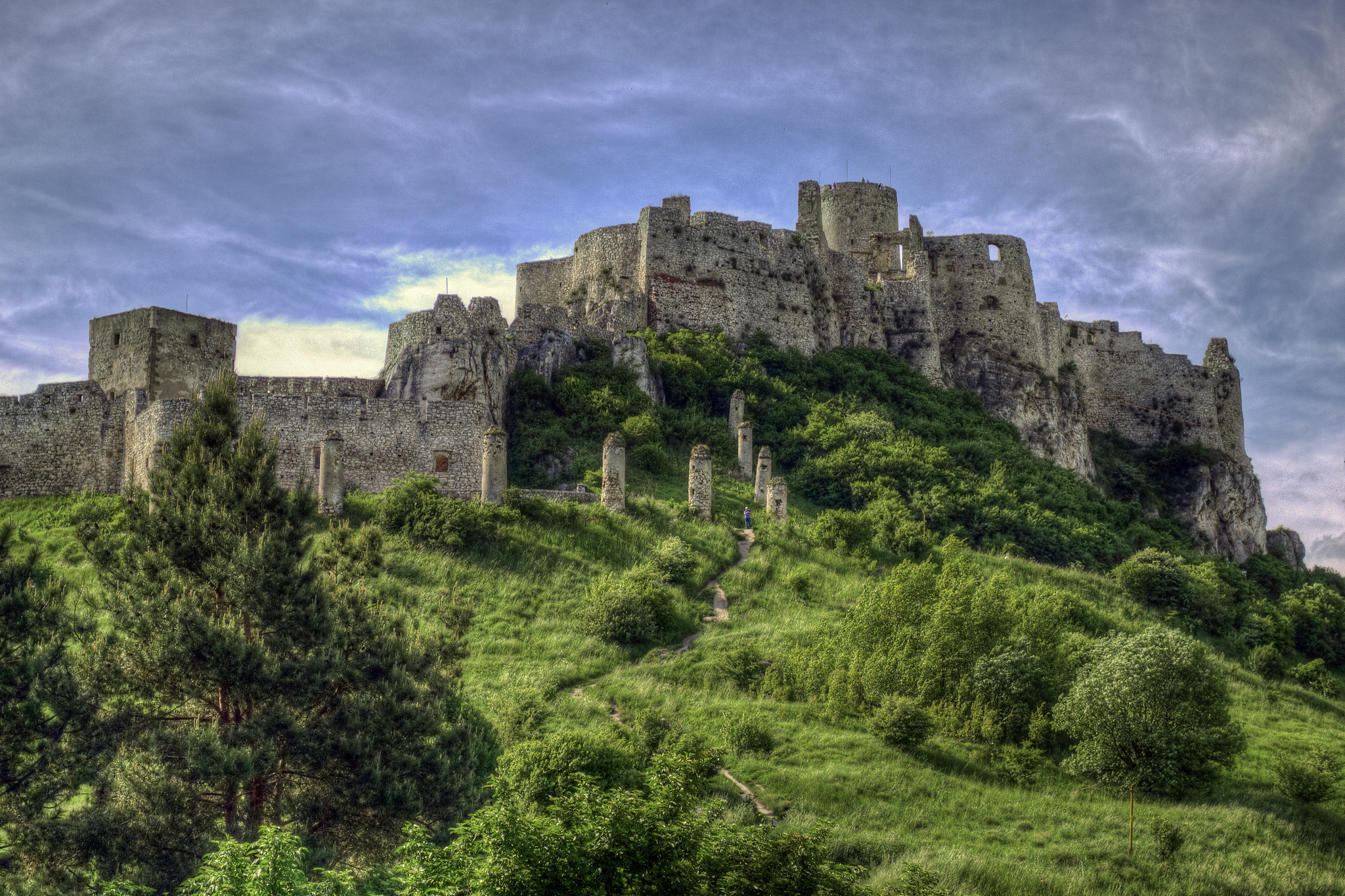 Спишский Град - замок Словакии