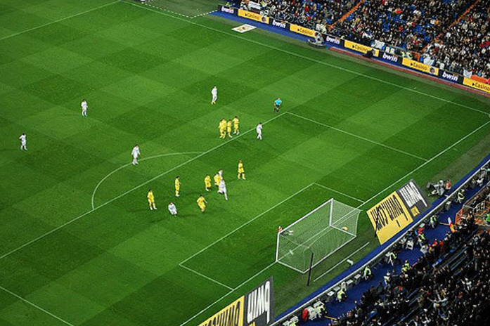 Стадион Сантьяго Бернабеу, футбольное поле