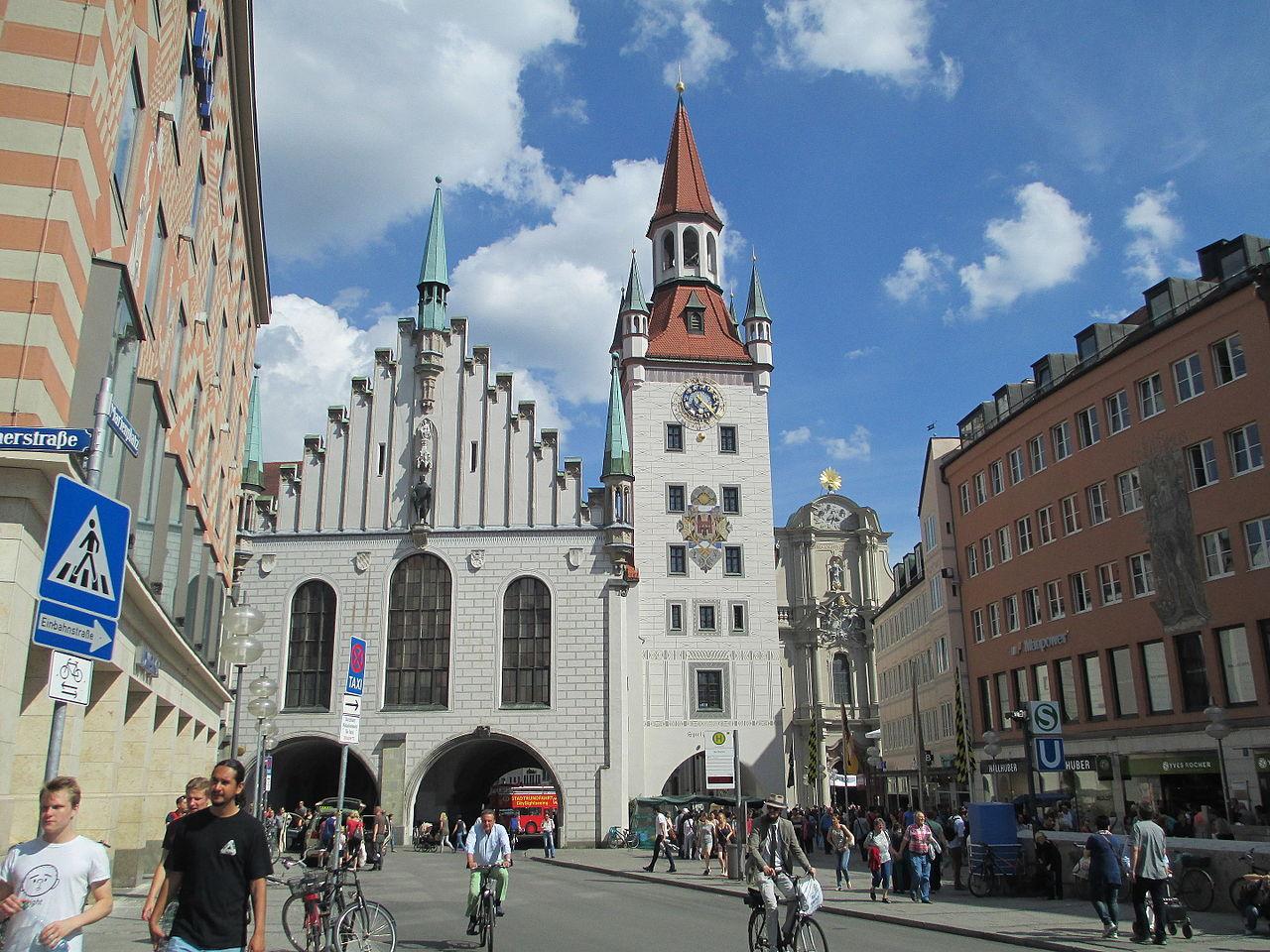 Мариенплац, Старая ратуша