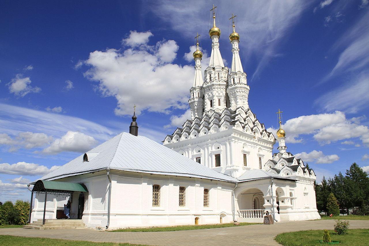 Церковь Одигитрии, Иоанно-Предтеченский монастырь