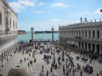 Пьяцетта Сан Марко и Венецианская лагуна