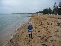 Евпаторийский пляж после шторма