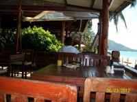 ресторан на пляже Ламай