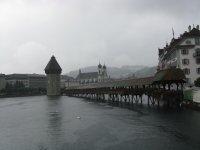 Вид на мост и башню