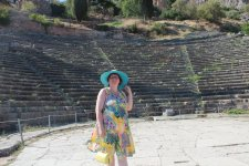 греция.дельфы древнегреческий театр