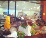 а вот так проходит рыбный день в отеле!
