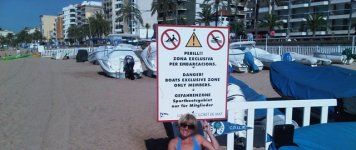 Тот же пляж Лорет-де-Мар
