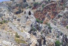 Остатки античных строений.