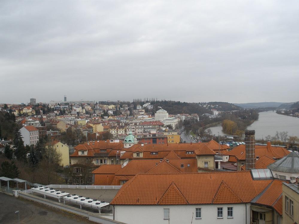 вд на Прагу с Вышеграда