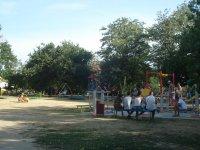 Детская площадка возле администрации