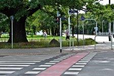 Пешеходный переход для велосипедистов