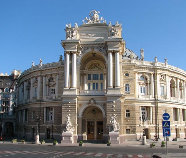 намазала одесса оперный военное фото собора