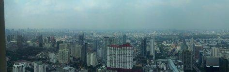 Вид из окна (61 этаж)