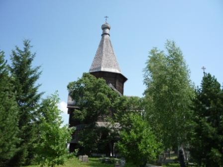 Шатровая церковь Успения.