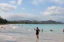 Дальний уголок острова с почти дикими пляжами