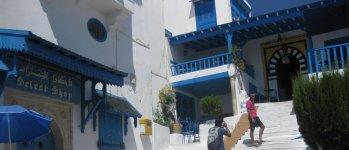 Дома бело-синего Сиди-бу-Саида