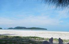 пляж острова Лангкави