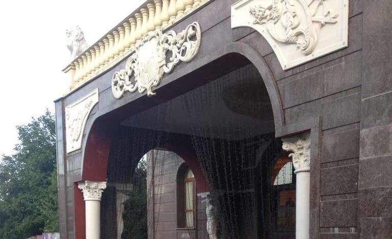 Дизайн террасы и входа