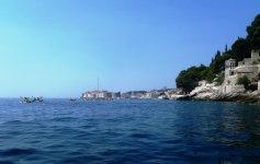 Вид на Дубровник во время экскурсии на байдарках