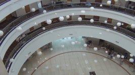 Круглое фойе в отеле Dan